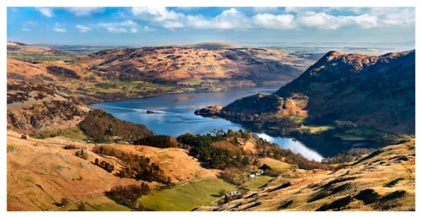 Ullswater From Harrison Crag - Lake District Print