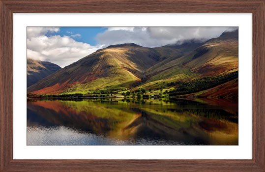 Green Fells of Wasdale - Framed Print with Mount