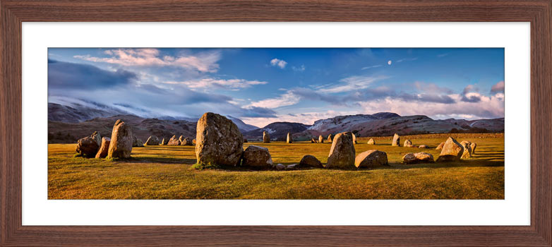 Morning Sunshine on Castlerigg - Framed Print