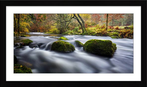 River Rothay in White Moss Woods - Framed Print