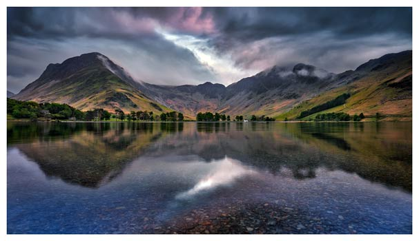 Buttermere Sky Rift - Lake District Print
