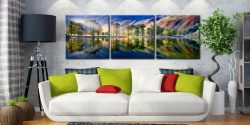 Buttermere Tranquility - 3 Panel Canvas on Wall