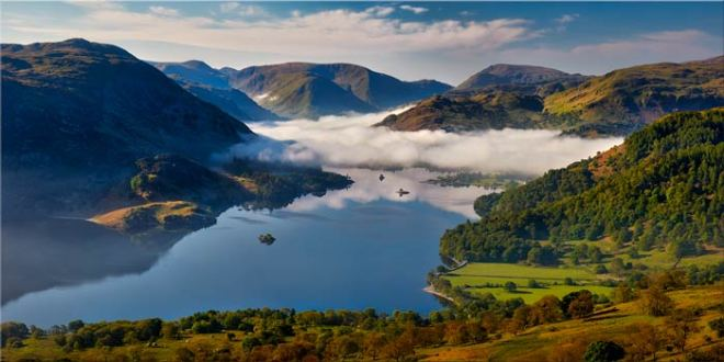 Glenridding Under the Clouds - Canvas Print