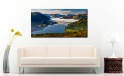 Glenridding Under the Clouds - Canvas Print on Wall