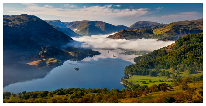 Glenridding Under the Clouds - Lake District Print