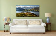 Gowbarrow to Martindale - Canvas Print on Wall