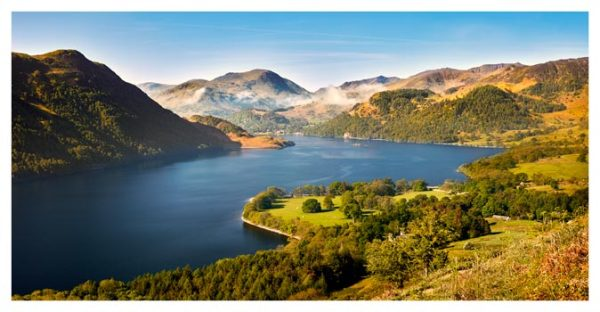 Spring at Ullswater - Lake District Print