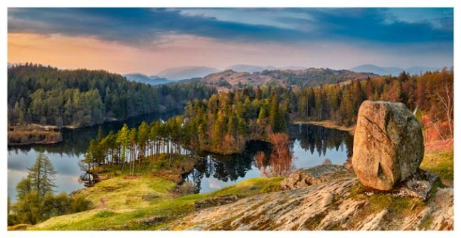Dusk at Tarn Hows - Lake District Print