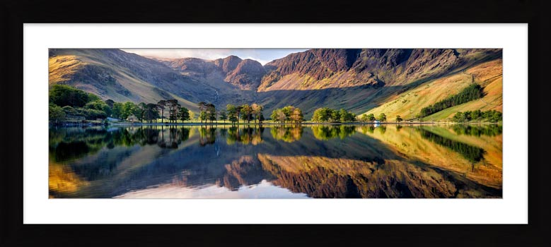 First Light at Buttermere - Framed Print