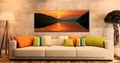 Ullswater Sunrise - Canvas Print on Wall