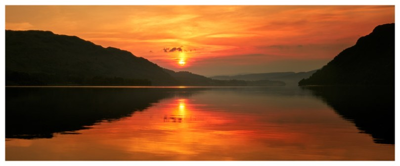 Ullswater Sunrise - Lake District Print