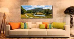 River Brathay Walk - Canvas Print on Wall