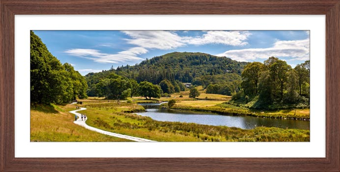 River Brathay Walk - Framed Print