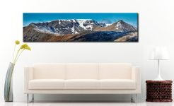 Helvellyn Snow Capped - Lake District Canvas on Wall