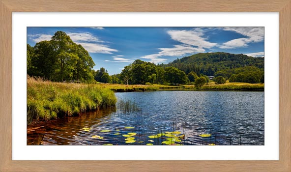River Brathay Summers Afternoon - Framed Print