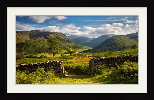 Green and Pleasant Land - Framed Print