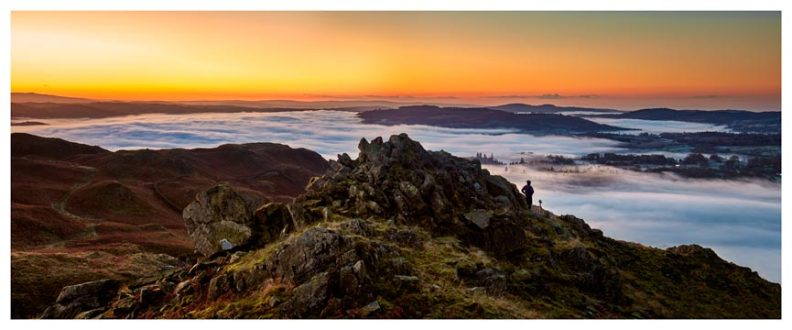 Watching the Dawn - Lake District Print