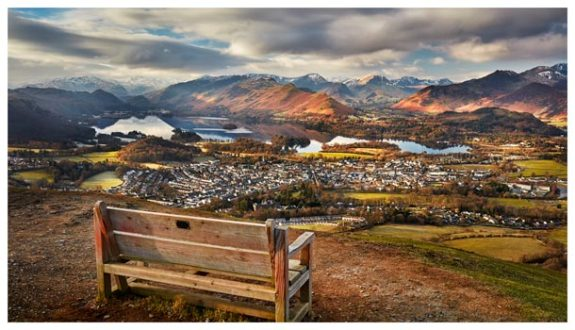Best Seat in the House - Lake District Print