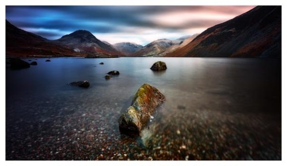 Wast Water Rock - Lake District Print