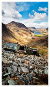 Warnscale Bothy Above Buttermere - Lake District Print