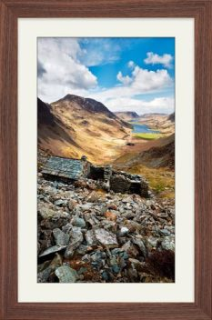 Warnscale Bothy Above Buttermere - Framed Print