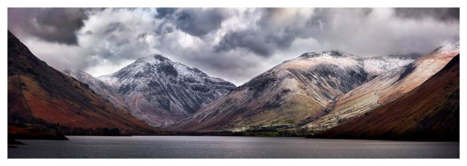 Great Gable and Lingmell - Lake District Print