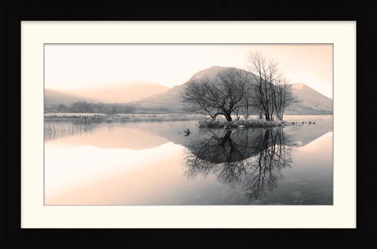 Morning Mists at Brothers Water - Framed Print