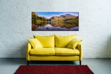 Sca Fell in Summer - Canvas Print on Wall