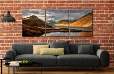 Glorious Lake District - 3 Panel Canvas on Wall