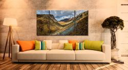 The Honister Pass - 3 Panel Wide Centre Canvas on Wall