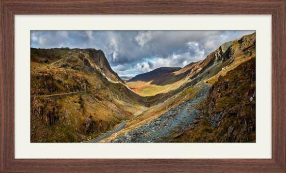 The Honister Pass - Framed Print