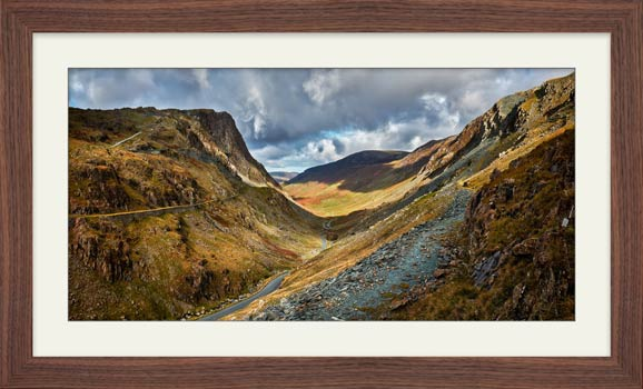 The Honister Pass - Framed Print