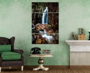 Scale Force Gorge  - A 3 panel wide centre canvas on Wall