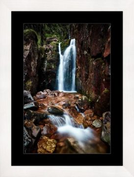 Scale Force Gorge - Framed Print
