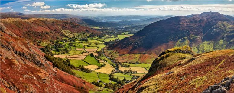 The Great Langdale Valley - Lake District Canvas