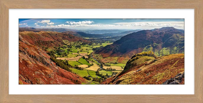 The Great Langdale Valley - Framed Print