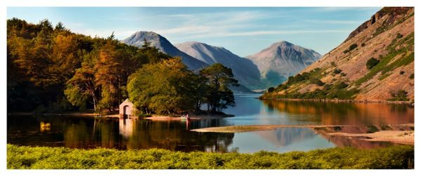 Wast Water Boathouse - Lake District Print