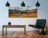 Elterwater to Langdale - 3 Panel Canvas on Wall
