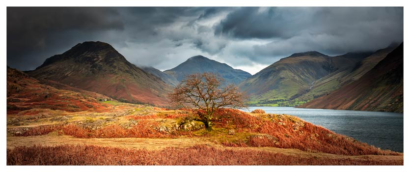 Darkness and Light at Wast Water - Lake District Print