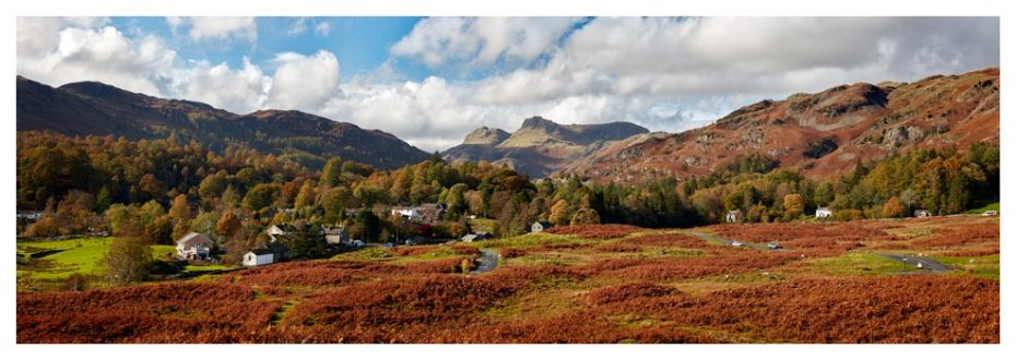 Elterwater Common - Lake District Print