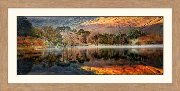 Golden Buttermere - Framed Print
