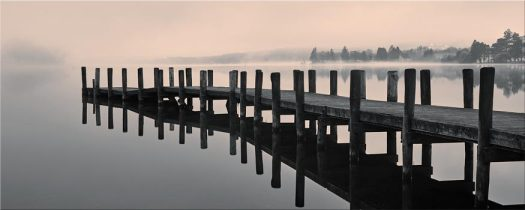 Coniston Jetty - Lake District Canvas