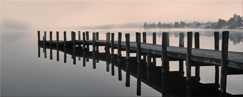 Coniston Jetty - Lake District Canvas