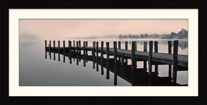 Coniston Jetty - Framed Print