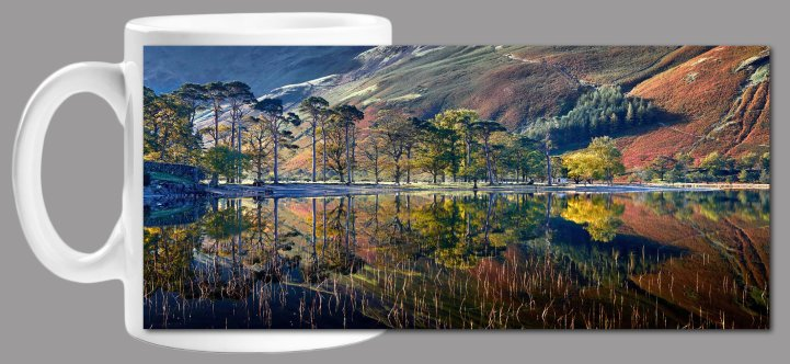Buttermere Autumn Reflections Mug