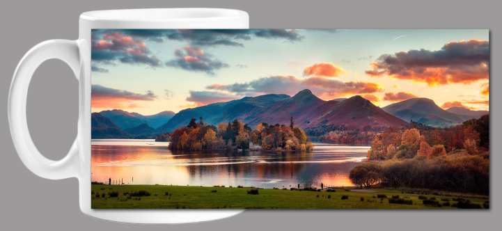Dusk at Derwent Water Mug