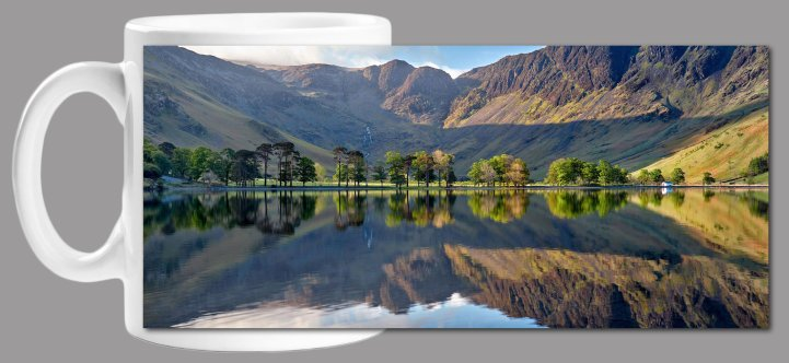 First Light at Buttermere Mug