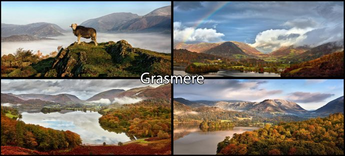 Grasmere Mugs 4 Pack