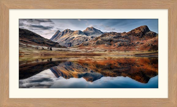 Dusk Over Blea Tarn - Framed Print