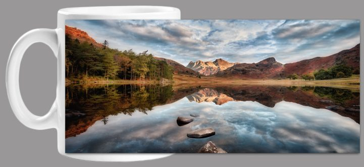 Light on the Langdales Mug